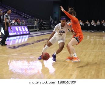 Taylor Caldwell guard for the Grand Canyon University eat GCU Arena in Phoenix,AZ/USA January 12,2019.