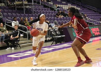 Taylor Caldwell guard for the Grand Canyon University Lopes at GCU Arena in Phoenix, Arizona/USA January 10,2019,