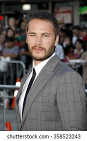 "Taylor Kitsch at the Los Angeles premiere of ""Savages"" held at the Mann Village Theater in Los Angeles, California, United States on June 25, 2012."