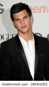 Taylor Lautner at Seventh Annual Teen Vogue Young Hollywood Party, MILK Studios, Los Angeles, CA September 25, 2009