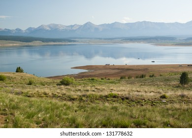 The Taylor Park Reservoir is a body of water created by the Taylor Park Dam, which dams the Taylor River of Colorado, United States.