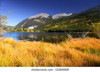 Taylor park reservoir in Colorado