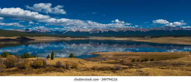 Taylor Park Reservoir Colorado Rocky Mountains Jenkins mountain Grizzly peak Illinois mountain
