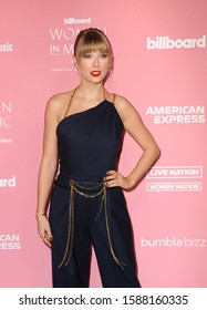 Taylor Swift at the 2019 Billboard Women In Music held at the Hollywood Palladium in Hollywood, USA on December 12, 2019.