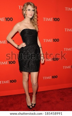 d514fd3f67b3 Taylor Swift, wearing a J Mendel dress, at TIME 100 Most Influential People  in
