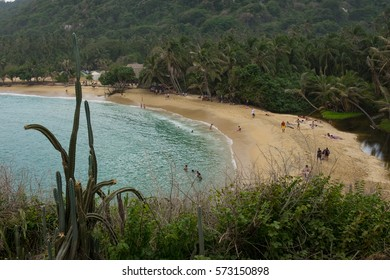 Tayrona National Park in Colombia, South America