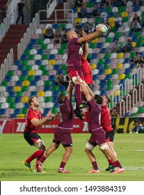 Tbilisi / Georgia — August 27 2019; TBC Rugby Series; Georgia vs Southern Kings; Mikheil Meskhi Stadium;