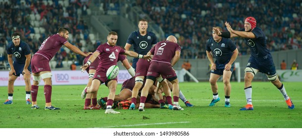 Tbilisi / Georgia  — August 31 2019; TBC Rugby Series; Georgia vs Scotland; Boris Paichadze Dinamo Arena;