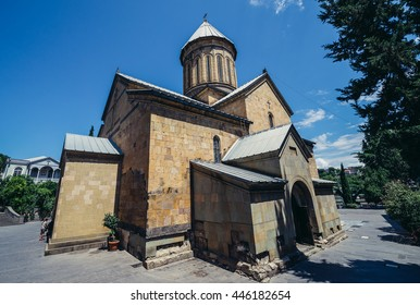 Tbilisi, Georgia - July 18, 2015. Sioni Cathedral of Dormition commonly known as Tbilisi Sioni