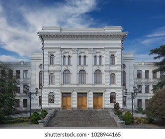 Tbilisi/Georgia/February 04; 2018: Ivane Javakhishvili Tbilisi State University (TSU),  The First-ever national university in the Caucasus, was opened in 1918;