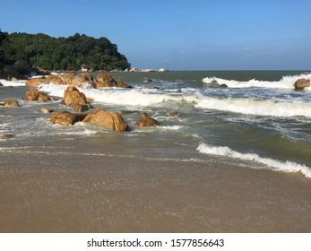 TC beach of Kuantan city
