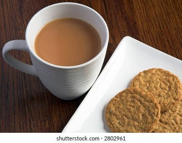 Tea And Biscuits (Cookies)
