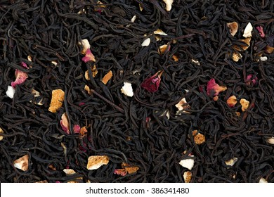 Tea blend of bergamot, rose petals, sage.
