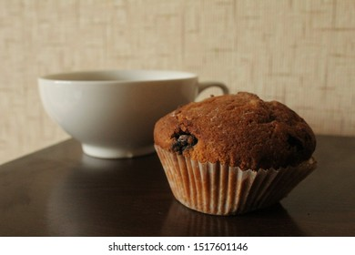 tea and cake on the table