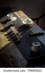 Tea ceremony show-