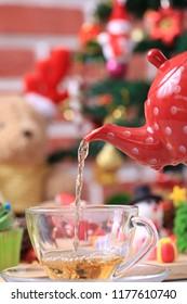 Tea in Christmas