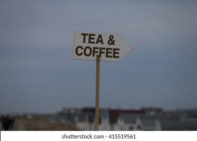 Tea & Coffee, Heacham Beach, Norfolk, England