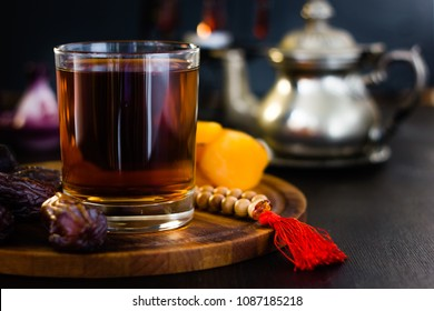 Tea or coffee for iftar on ramadan month