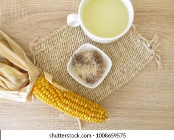 Tea with corn silk, Maydis stigma