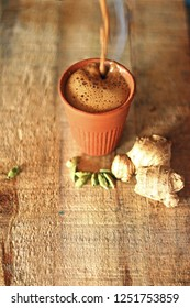 Tea cup (Chai in kulhad) Ginger & Cardamom