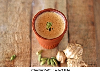 Tea cup (Chai in kulhad) Ginger & Cardamom