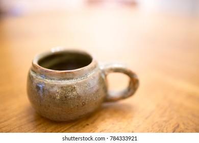 tea cup closeup