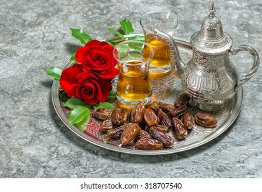 Download Office Reception Eid Al-Fitr Decorations - tea-dates-fruits-red-rose-260nw-318707540  Best Photo Reference_737311 .jpg