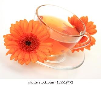Tea and flower