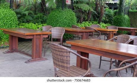 Tea Garden at Farmhouse,Lembang, Bandung, Indoneaia.