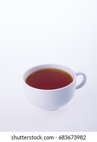 tea or hot tea cup on a background