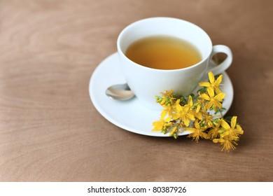 tea with hypericum