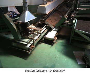 Tea leaves factory sorting machines