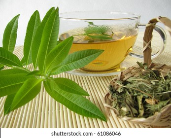 Tea with lemon verbena
