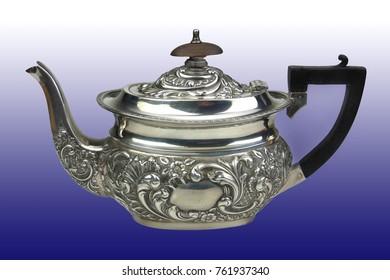 Tea pot with texture