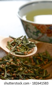 tea with roasted rice