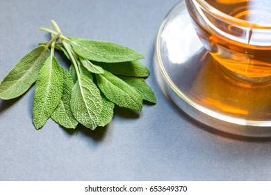 Tea with sage
