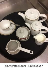 Tea set for afternoon tea