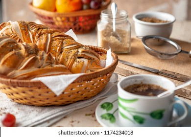 Tea and special bread