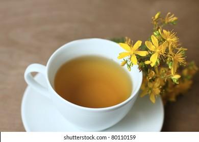 tea with St. John's wort