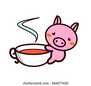 Tea Time of Animal Series
