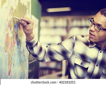 Teacher Teach Teaching Geography Global Lesson Concept