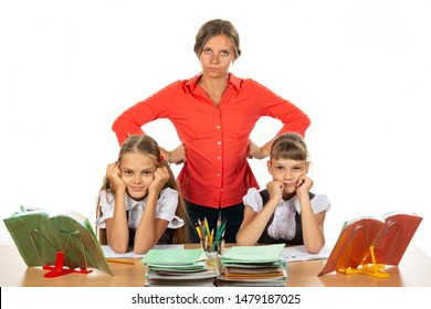 Teacher tired of stupid children