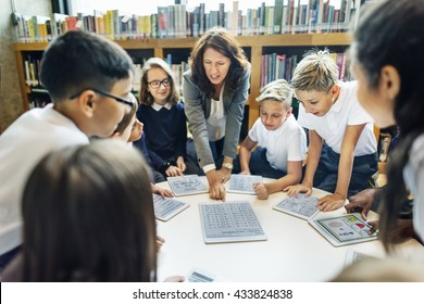 Teaching Studying Library Learning Knowledge Concept