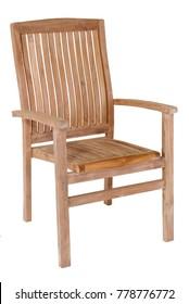 Teak arm chairs garden furniture