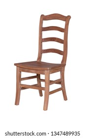 teak garden chair furniture with a white background