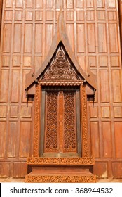 Teak window Thai