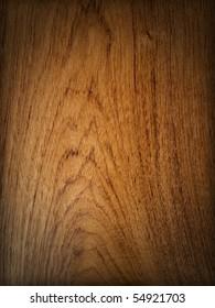 Teak wood background vertical drop shadow