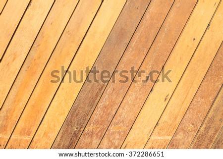 Teak Wood Fence Background Modern Home Stock Photo Edit Now