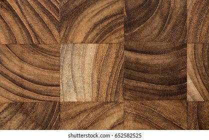 Teak wood texture, closeup shot