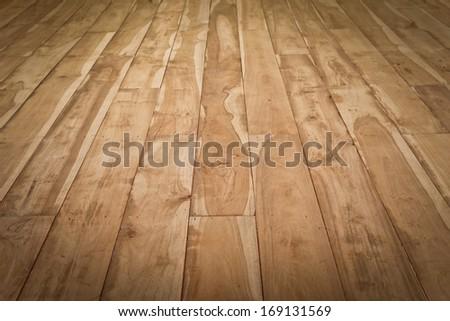 Teak Wood Texture Plank Background Floor
